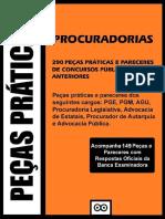 QUESTÕES DISCURSIVAS - ADVOCACIA PÚBLICA - 290 Peças e Pareceres (1)
