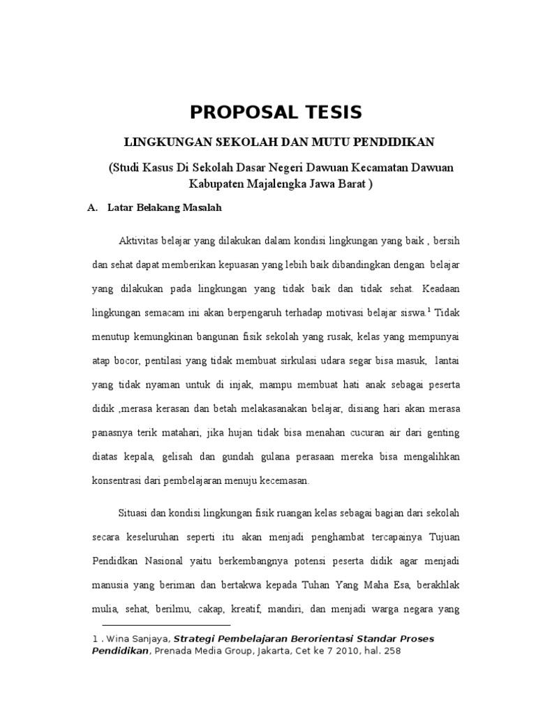 Proposal Tesis