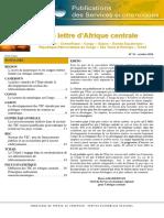 Lettre d'Afrique Centrale