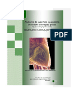 Anatomia de superfície e palpatória do quadril e da região glútea