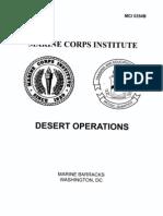 0354B Desert Operations
