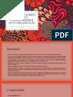 Discurso do sujeito coletivo, complexidade e auto-organização