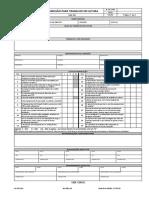 FO-SGI-011 - Permissão para Trabalho em Altura - rev 01