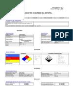 Hoja de Seguridad de AcidoFosfPurificado75