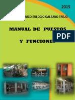 MANUAL DE FUNCIONES EULOGIO 2015