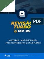 AULÃO CEISC MATÉRIA INSTITUCIONAL