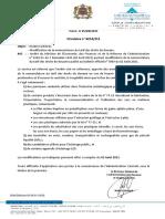 New TARIF douane 2021