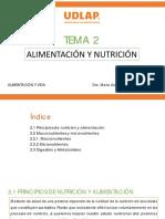 t2. Alimentación y Nutrición