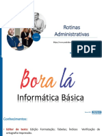 ROTINAS ADMINISTRATIVAS_PARTE_INFORMÁTICA