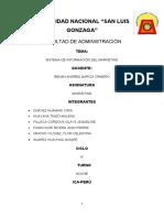 MONOGRAFIA SISTEMAS DE INFORMACION DE MARKETING