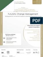 Futuristic Change Mangement