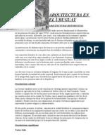 ARQUITECTURA EN EL URUGUAY