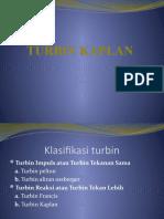 kaplan turbine.ppt