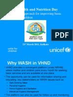 VHND WASH Orientation