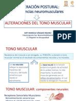 ALTERACIÓN DEL TONO MUSCULAR_Clase Patología del Movimiento MOODLE