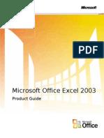 Excel 2003 Libro