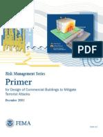 Design of Commercial Buildings to Mitigate Terrorist Attacks - Fema427
