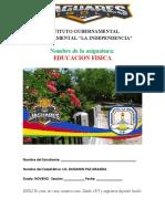 CUADERNILLO NOVENO GRADO PRIMER PARCIAL 2021