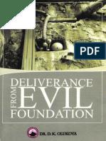 Délivrance de la fondation du mal°Daniel K. OLUKOYA°29