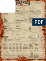 Deadlands CharSheet