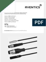 Operating Instructions Sensor Atex Certified St6 Aventics en 7553694