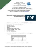 S 31_Informare Cazuri Cu Variante Care Determina Îngrijorare (VOC)