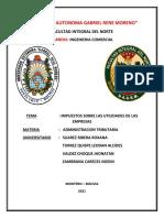 Impuestos Sobre Las Utilidades de Las Empresas (Iue)