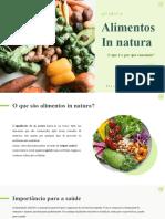 Alimentos in Natura Quimica