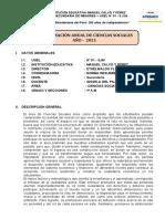 PROGRAMACIÓ ANUAL 2021- CCSS- 1RO A- B