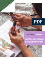 PRINCIPIANTES Y ACEITES ESENCIALES