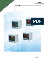 RU CKD Цифровой датчик давления Серии PPX. Режимы работы
