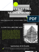 Escuelas Del Modernismo