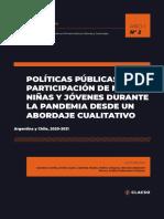 Observatorio Latinoamericano y Caribeño en Primera Infancia, Infancias y Juventudes. Informe de Investigación, Año 1, Nro. 2, Julio 2021