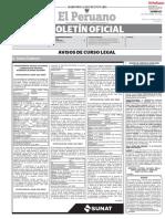 Diario Oficial El Peruano 2020-11-27