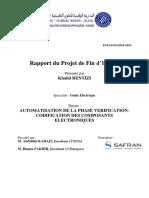 Rapport Bentizi Khalid Pfe