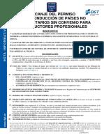 04 Canje PC Paises No Comunitarios Sin Convenio Para Profesionales