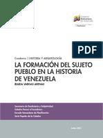 IRAIDA VARGAS La formación del sujeto pueblo en la historia de Venezuela