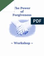 Power of Forgiveness Workshop