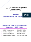 CH 1 Understanding the Supply Chain