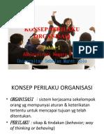 Konsep Perilaku Organisasi 1