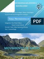 Movimiento de Masa Geomorf