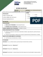 Lp - 3 Série - 2 Bim - Rt 4