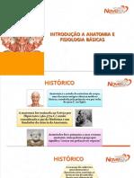 AULA 01 - INTRODUÇÃO AO ESTUDO DA ANATOMIA E ORGANIZAÇÃO DO ORGANISMO