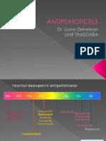 Medicatia antipsihotica