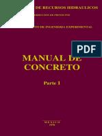 Manual de Concreto Parte 1 SRH Tecnologia Del Concreto
