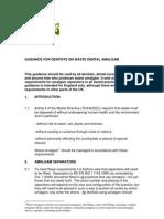 DEFRA amalgam guidance 2005
