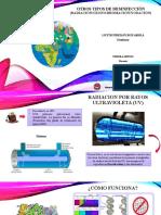 TIPOS DE DESINFECCION