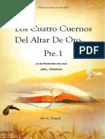 2002-1120 Los Cuatro Cuernos Del Altar de Oro Pte.1 1R