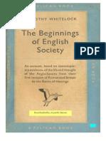 The beginning English Society by Dorothy White.