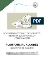 Documento Tecnico de Soporte Plan Parcial Alcores